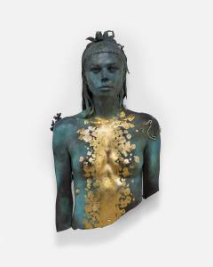 Aspect of Katie Ishtar Yolandi, bronzo © Damien Hirst and Science Ltd. All rights reserved, DACS/SIAE 2017