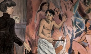 Pablo-Picasso-in-versione-graphic-novel